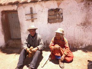 Mutter und Sohn in Miraflores Cabanilla