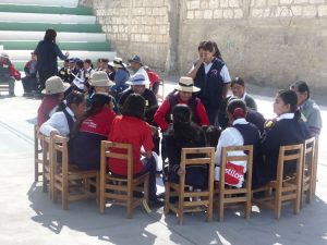 Ein Mehrgenerationenprojekt in Peru