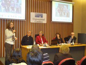 Veranstaltung über das Programm in der Katholischen Universität