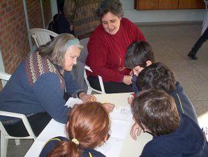 Lerngruppen im Colegio Mariano