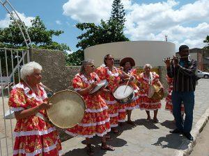 Seniorinnen der Musikgruppe des Sozialzentrums