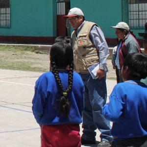 Sozialarbeiter Juan Alfredo Laura